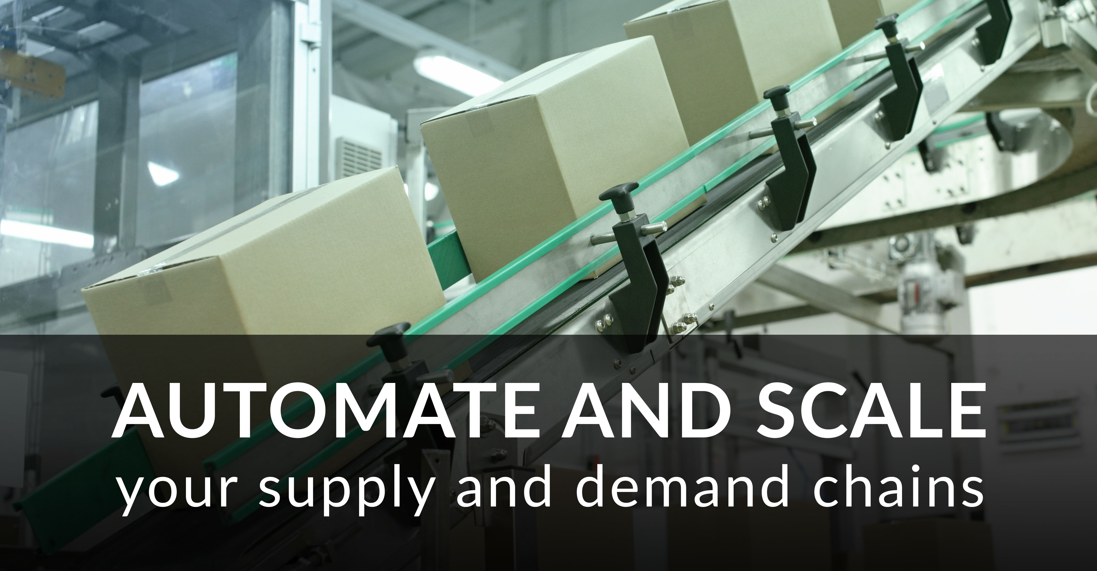 Automate and Scale Your Supply and Demand Chains